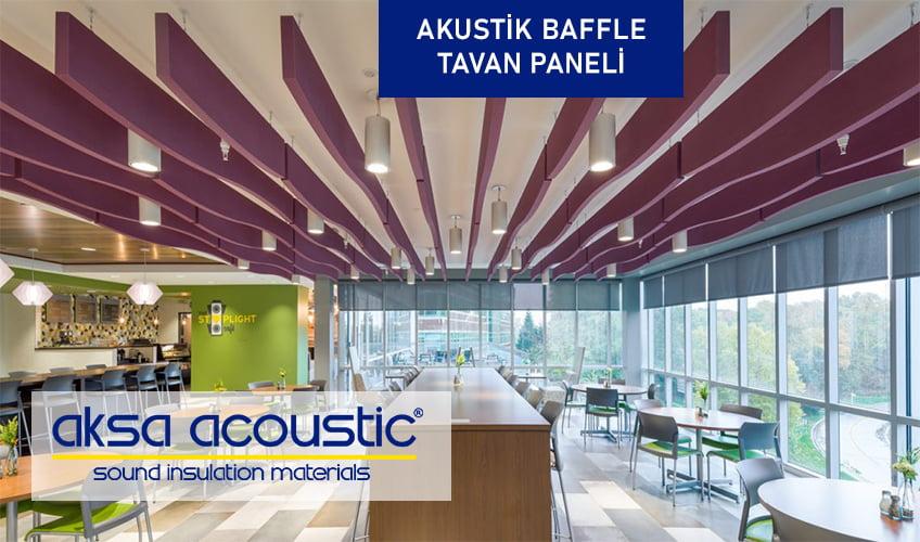 aksa akustik baffle tavan paneli fiyatları aktav akustik parmephon