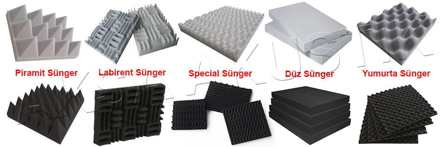 rize ses yalıtımı akustik sünger fiyatları