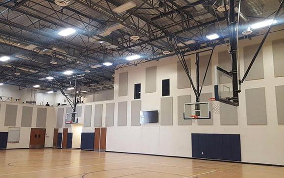 basketbol salonu duvar kaplama