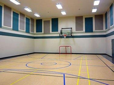 basketbol salonu ses izolasyon malzemeleri