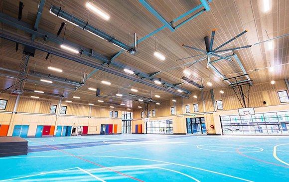 basketbol salonu tavan kaplama