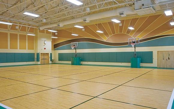 basketbol- salonu zemin kaplama