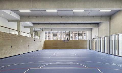 basketbol salonu ses izolasyonu