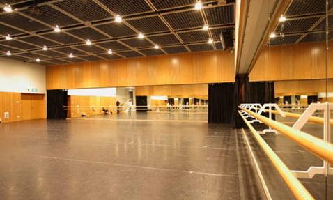 dans salonu ses izolasyonu