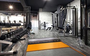 fitness salonu zemin kaplama malzemeleri