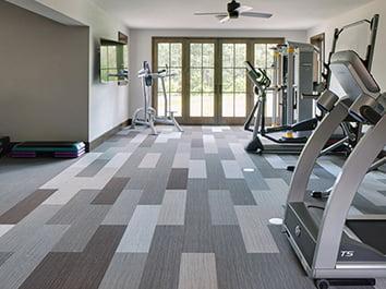 fitness salonu zemin kaplama