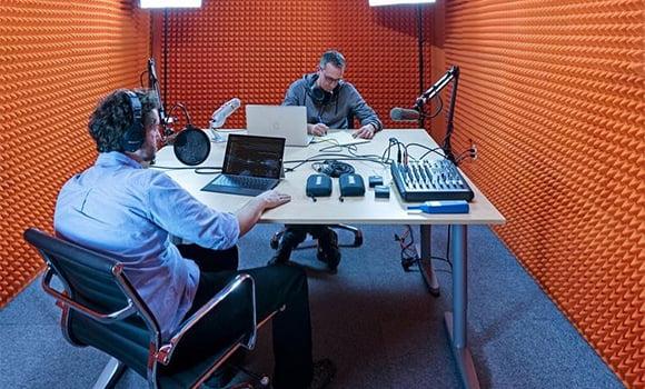 radyo odası akustik ses yalıtımı