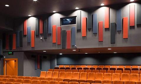 sinema salonu ses yalıtım malzemeleri