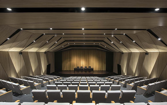tiyatro salonu tavan kaplama