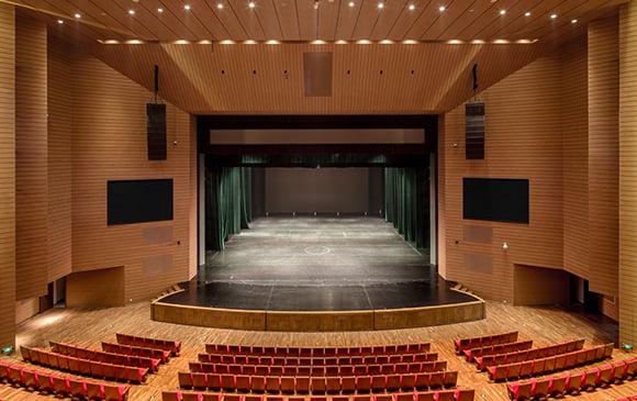 tiyatro salonu zemin kaplama