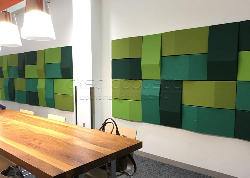 3d kumaş kaplı akustik ses düzenleme paneli