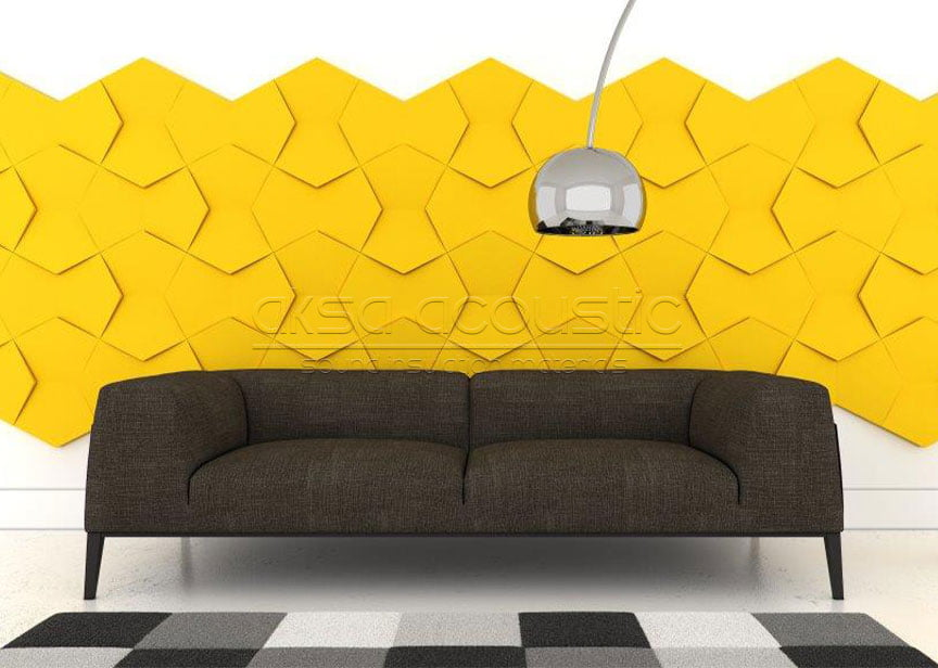 acoustic 3d fabric wall panels