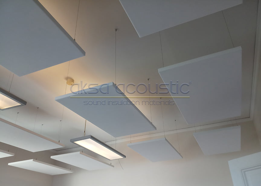 acoustic ceiling fabric panels