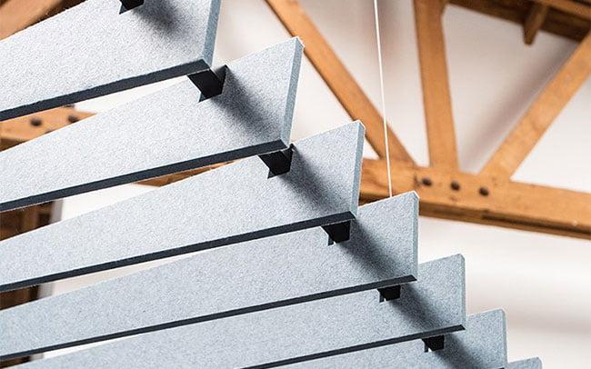 acoustic felt baffle panels