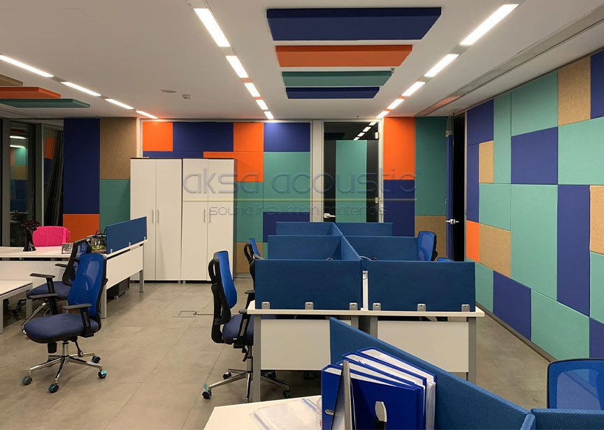 acoustic table screen panels