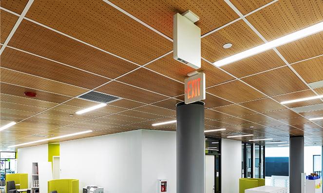 ahşap akustik asma tavan paneli fiyatları
