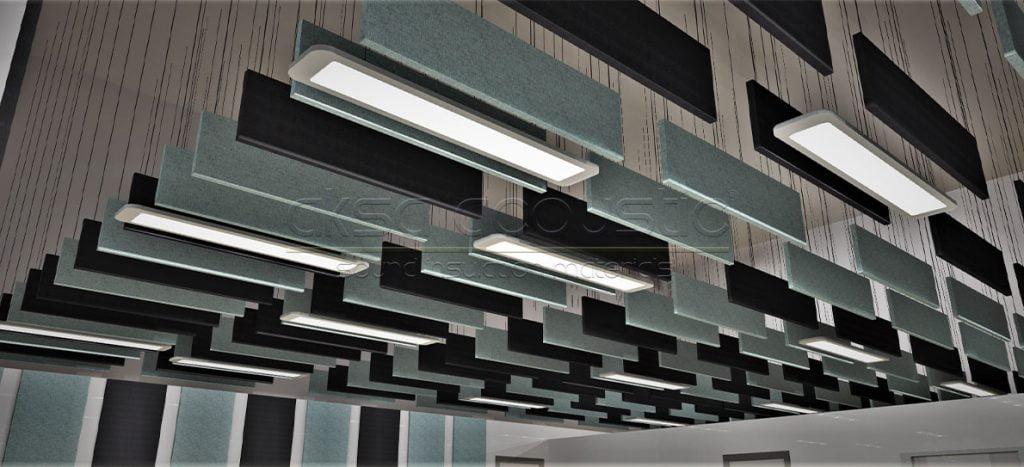 aksa akustik baffle tasarım projelendirme firması