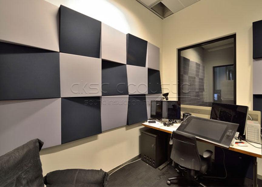 akustik 3d stüdyo panelleri