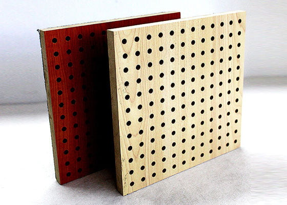akustik ahşap delikli panel fiyatı