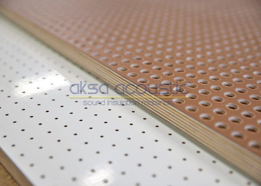 akustik ahşap delikli panel üreticisi