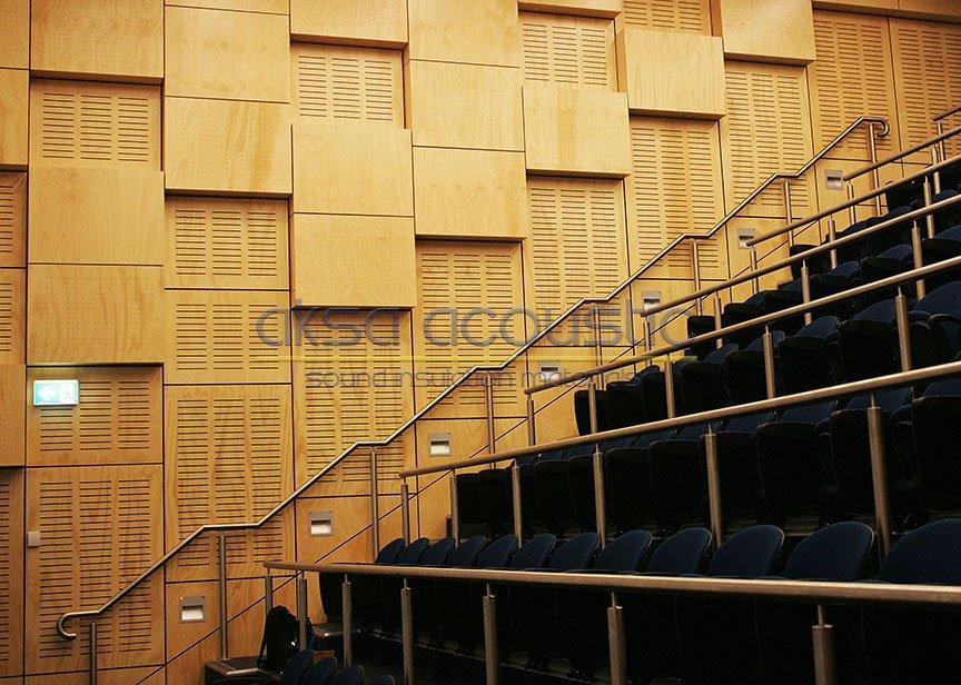 akustik ahşap duvar kaplamaları