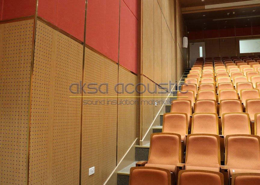 akustik ahşap ses yansıtıcı duvar panelleri