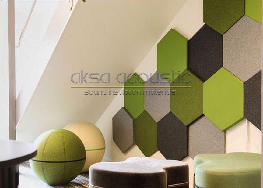 akustik altıgen duvar paneli nasıl uygulanır