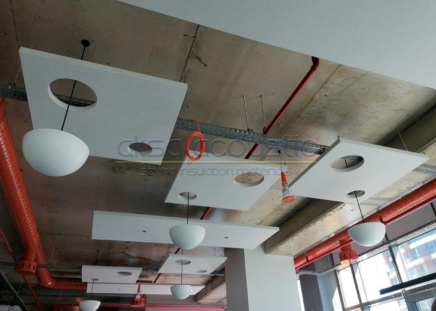 akustik dekoratif tavan panel kaplamaları