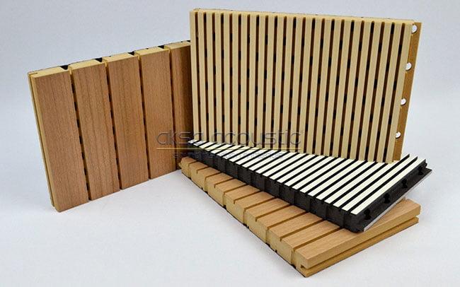 akustik derzli ahşap paneller