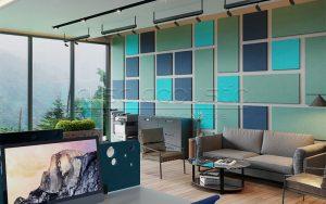 akustik keçe duvar paneli özellikleri