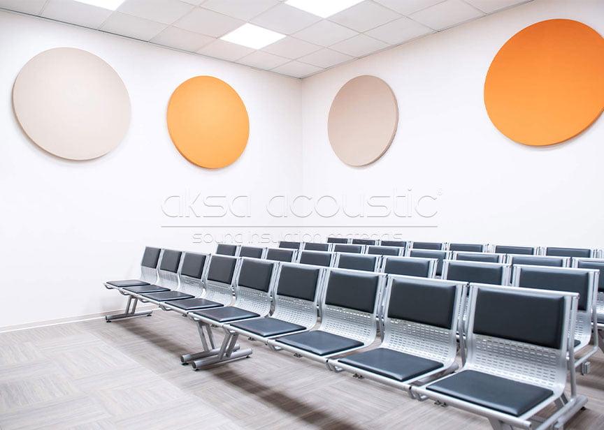 akustik kumaş kaplı daire panel fiyatı