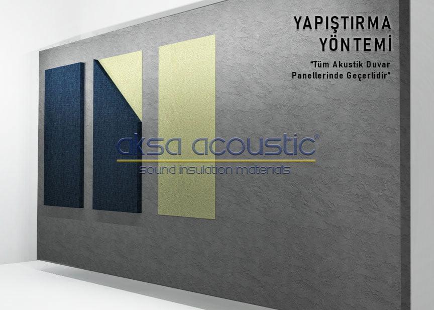 akustik kumaş kaplı panel nasıl uygulanır