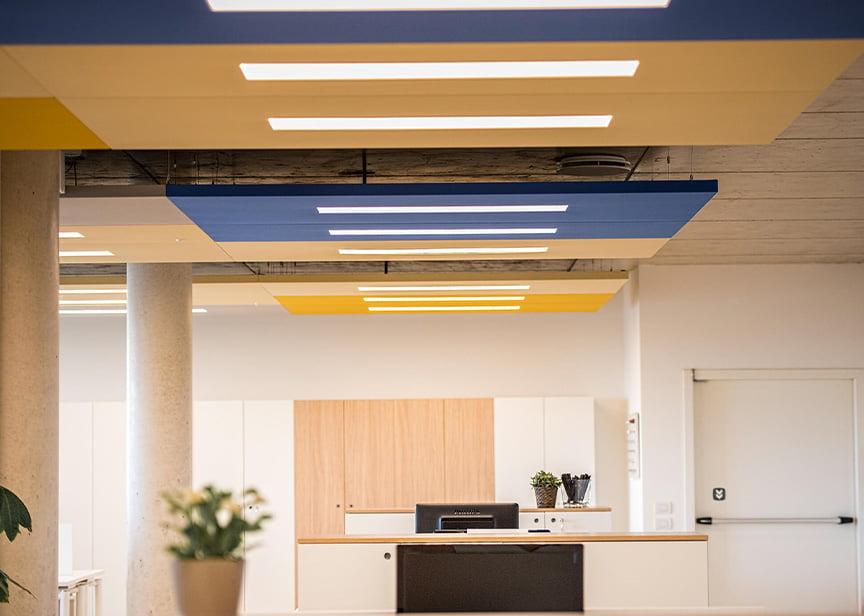akustik ledli tavan panelleri