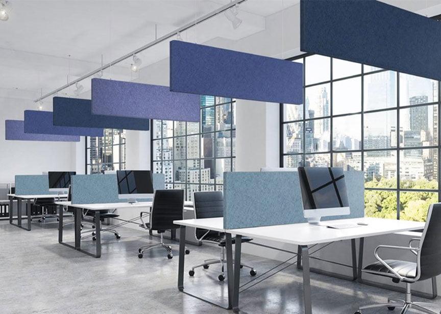 akustik tavan paneli baffle nedir