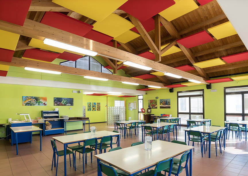 akustik tavan ses düzenleme panelleri