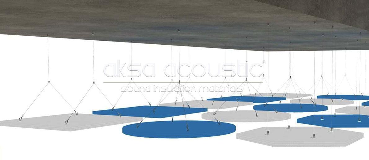 akustik yüzer tavan paneli nasıl uygulanır