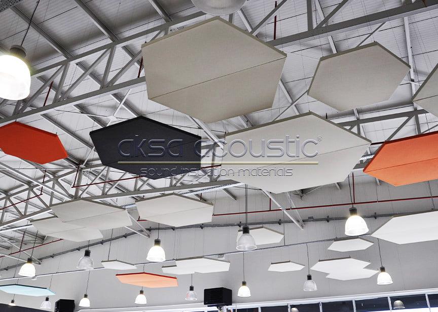 akustik yüzer tavan sistemleri