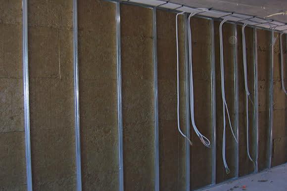 alçıpan bölme duvarı akustik ses yalıtımı