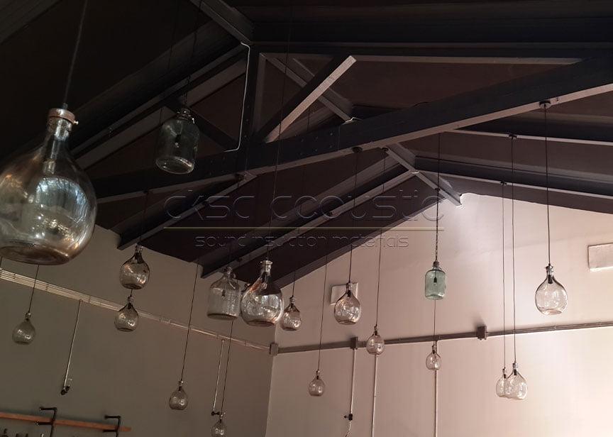 bariyerli akustik sünger tavan kaplama