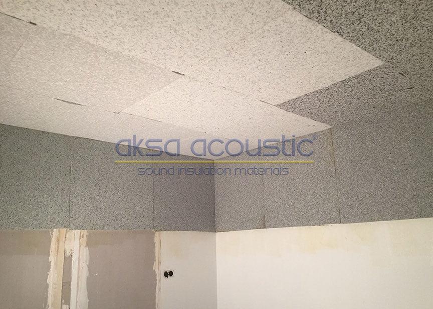 bariyerli süngerpan duvar tavan ses yalıtımı