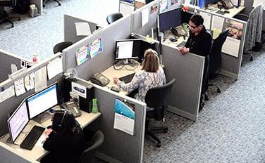 call center duvar kaplama