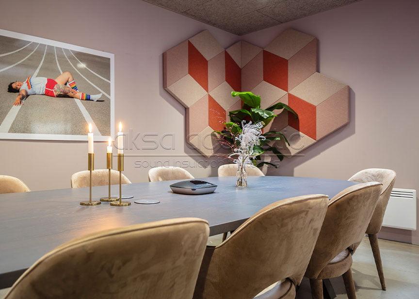 dekoratif ses yalıtım paneli