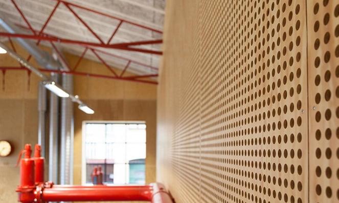 delikli akustik ahşap panel fiyatları