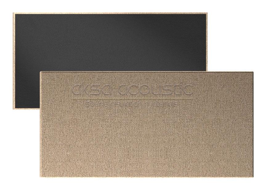 dikdörtgen akustik kumaş kaplı panel