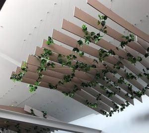 felt keçe tavan baffle panelleri