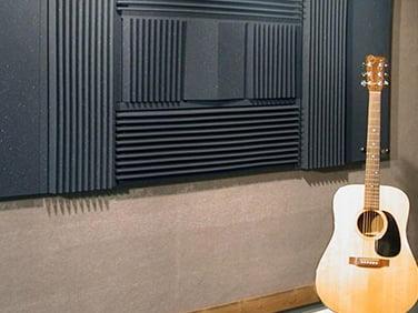 gitar odası akustik düzenlemeler