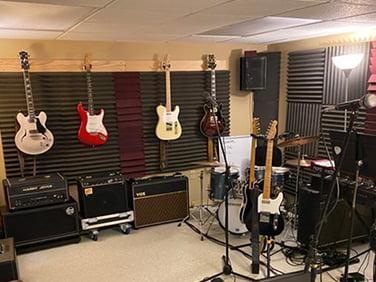 gitar odası akustik panelleri