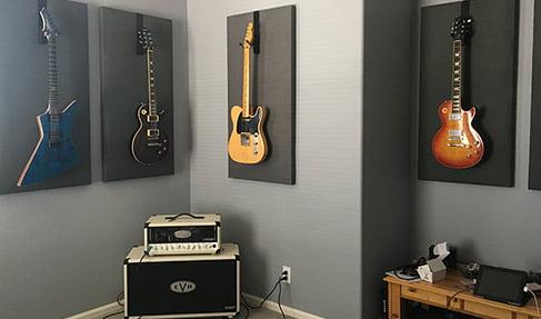 gitar odası ses yalıtımı