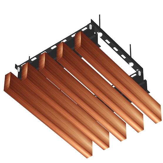 hook on akustik ahşap asma tavan paneli