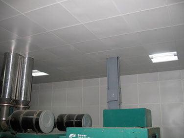 jeneratör odası tavan kaplama